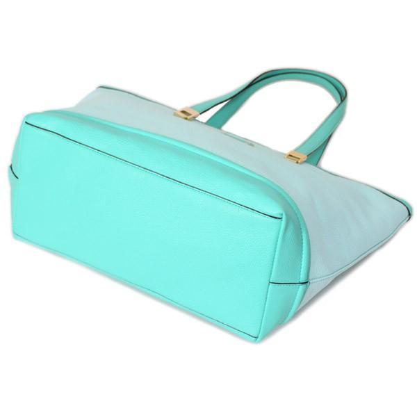 ケイトスペード バッグ katespade レザー オリバー ストリート トート バッグ グレースブルー 3783