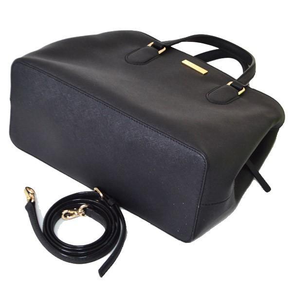 ケイトスペード バッグ katespade  サフィアーノレザー ローレル ウェイ 2WAY ショルダー バッグ  ブラック  3930