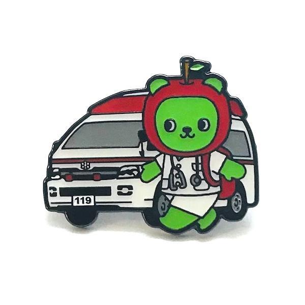 アルクマ 救急 Dr-ver ピンバッジ|pin-bigwave