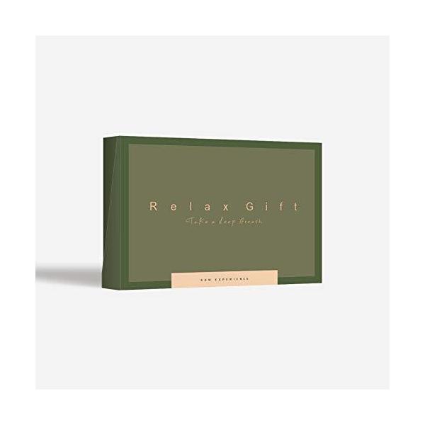 SOWEXPERIENCE(ソウ・エクスペリエンス)RelaxGift(GREEN)体験ギフトエステチケットプレゼント