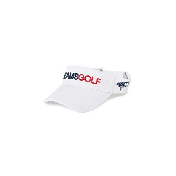 (ビームスゴルフ)BEAMSGOLF/ボウシスタンダードバイザー2メンズWHITE-