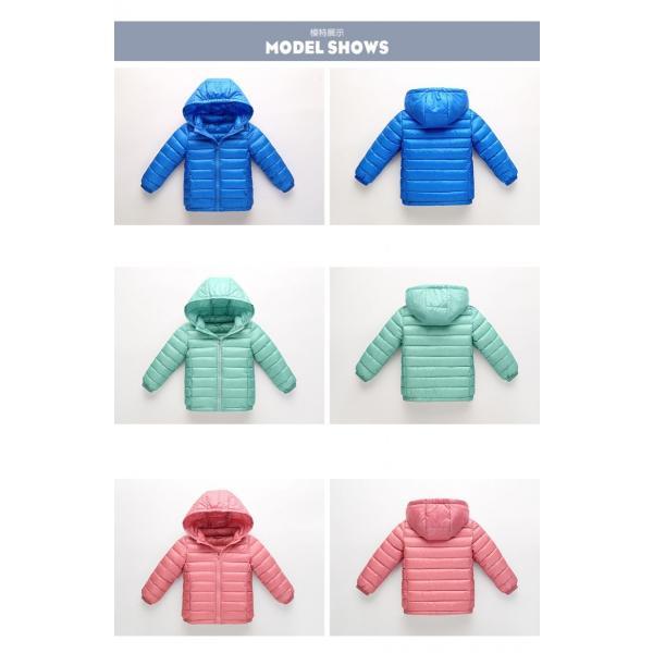 ダウンジャケット  子供 90%ダウン 超軽量ダウンコート フード取り外し可能|pink-dolly|06