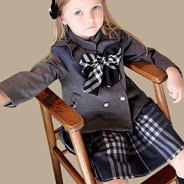 フォーマル スカート チュール 女の子 子供服  キッズ 入学式 入園式 卒業式 結婚式  タータンチェック グレー チャコール 140 130 120 110 100 90 モニカ|pinkcat-rora|02