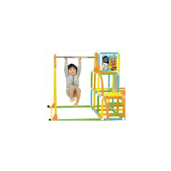 アンパンマン NEWブランコパークDX アガツマ agatsuma Anpanman 室内用 ジャングルジム 遊具 ぶらんこ すべり台 おもちゃ 誕生日プレゼント 知育玩具 人気商品:*|pinkybabys|05
