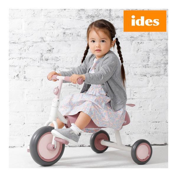 正規品 三輪車 ディーバイク ダックス ディズニー ミニー D-bike dax 3輪車 乗り物 子供 キッズ 女の子 kids 1歳半 アイデス 誕生日 ギフト 一部地域 送料無料