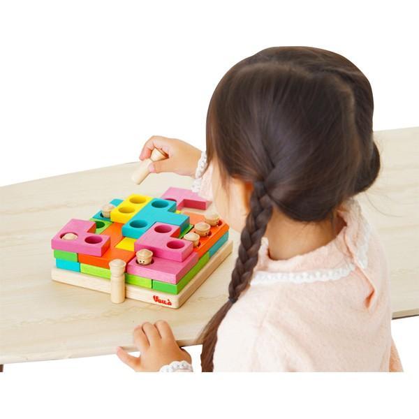 木のおもちゃ ボイラパズル2 木製玩具 ボイラ voila パズル 指先の知育 脳トレ 立体パズル 指先遊び 知育玩具 プレゼント 誕生日 ギフト 男の子 女の子|pinkybabys|06