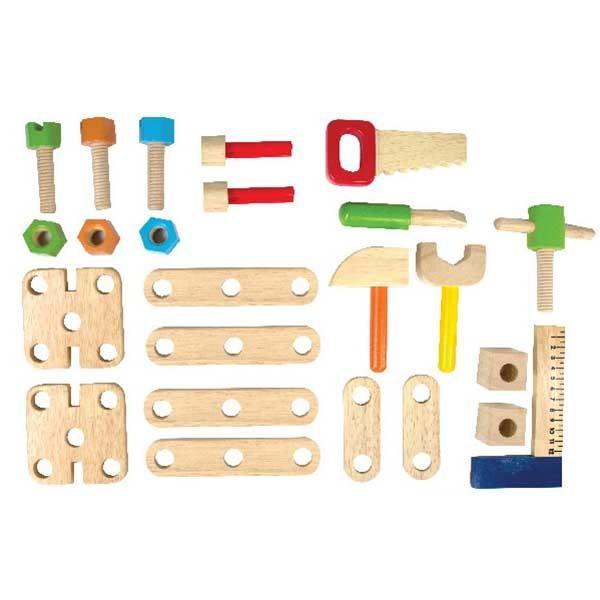 クリスマスセール 知育玩具 ABCカーペンターテーブル エデュテ アイムトイ おもちゃ 木製玩具 木のおもちゃ 人気 誕生日 プレゼント 10倍 一部地域送料無料|pinkybabys|03