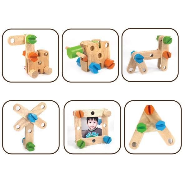 クリスマスセール 知育玩具 ABCカーペンターテーブル エデュテ アイムトイ おもちゃ 木製玩具 木のおもちゃ 人気 誕生日 プレゼント 10倍 一部地域送料無料|pinkybabys|04