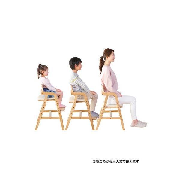 ベビーチェア キトコ キッズダイニングチェア 大和屋 yamatoya 子ども用家具 室内 リビング 椅子 イス 木製 ギフト プレゼント お祝い 送料無料 ポイント10倍|pinkybabys|13