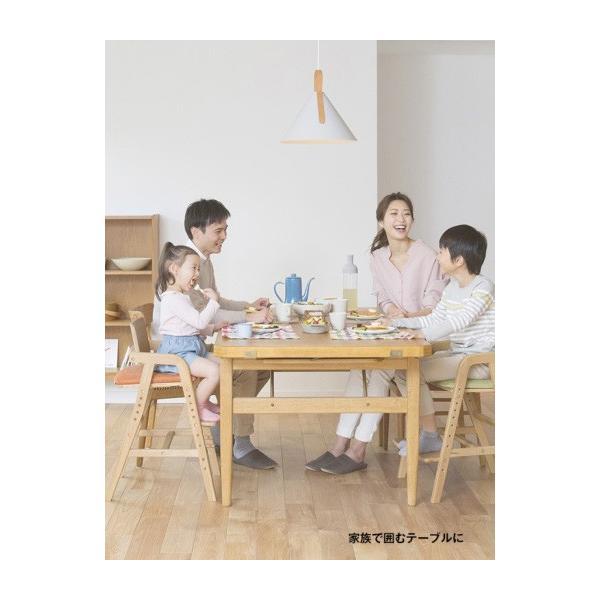 ベビーチェア キトコ キッズダイニングチェア 大和屋 yamatoya 子ども用家具 室内 リビング 椅子 イス 木製 ギフト プレゼント お祝い 送料無料 ポイント10倍|pinkybabys|15