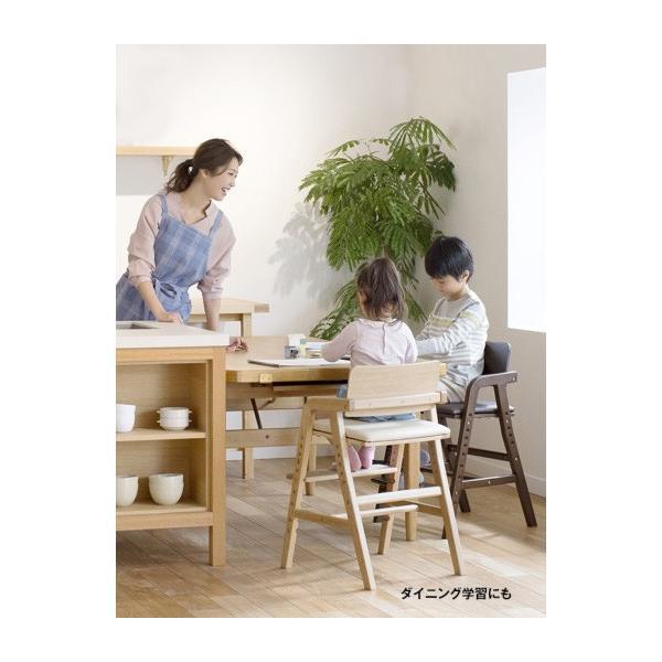 ベビーチェア キトコ キッズダイニングチェア 大和屋 yamatoya 子ども用家具 室内 リビング 椅子 イス 木製 ギフト プレゼント お祝い 送料無料 ポイント10倍|pinkybabys|16