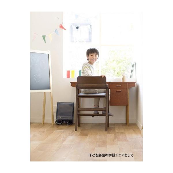 ベビーチェア キトコ キッズダイニングチェア 大和屋 yamatoya 子ども用家具 室内 リビング 椅子 イス 木製 ギフト プレゼント お祝い 送料無料 ポイント10倍|pinkybabys|17