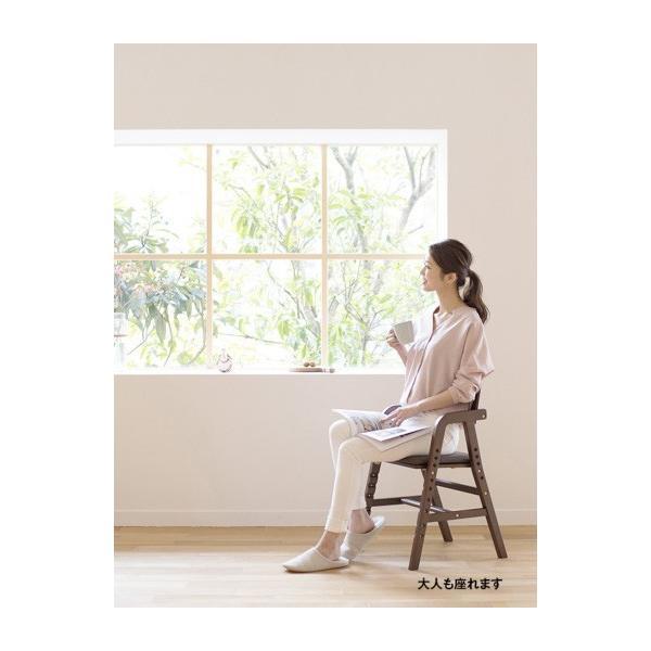 ベビーチェア キトコ キッズダイニングチェア 大和屋 yamatoya 子ども用家具 室内 リビング 椅子 イス 木製 ギフト プレゼント お祝い 送料無料 ポイント10倍|pinkybabys|18