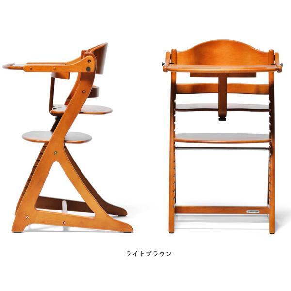 ベビーラック チェア すくすくチェア プラス テーブル付 木製 大和屋 yamatoya 送料無料 ベビー キッズ 大人 椅子 ハイチェア 出産 お祝い ギフト|pinkybabys|04