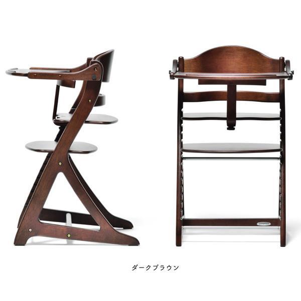 ベビーラック チェア すくすくチェア プラス テーブル付 木製 大和屋 yamatoya 送料無料 ベビー キッズ 大人 椅子 ハイチェア 出産 お祝い ギフト|pinkybabys|05