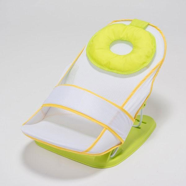 ベビーバスチェア バスベッド ドーナツ シンセーインターナショナル キスベビー 赤ちゃん ベビー マタニティ 出産 沐浴 衛生 お風呂 リクライニング 持ち運び|pinkybabys|02