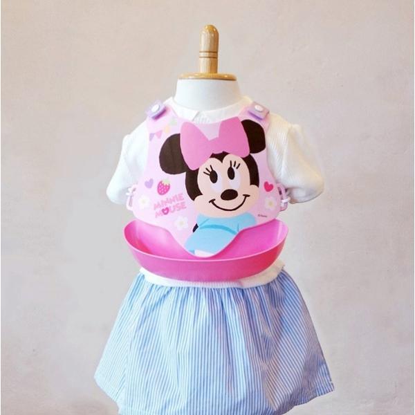 お食事エプロン スタイ バッククロスエプロン 錦化成 nishiki ベビー キッズ マタニティ Disney ディズニー ポケット ギフト お祝い プレゼント インスタ|pinkybabys|10