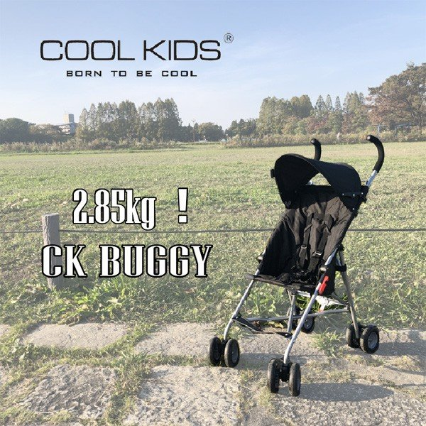 ベビーカー CKバギー ブラック クールキッズ COOLKIDS ストローラー ベビーバギー 7ヶ月からOK 超軽量 赤ちゃん 幼児 背面式 コンパクト 連休 帰省|pinkybabys|02