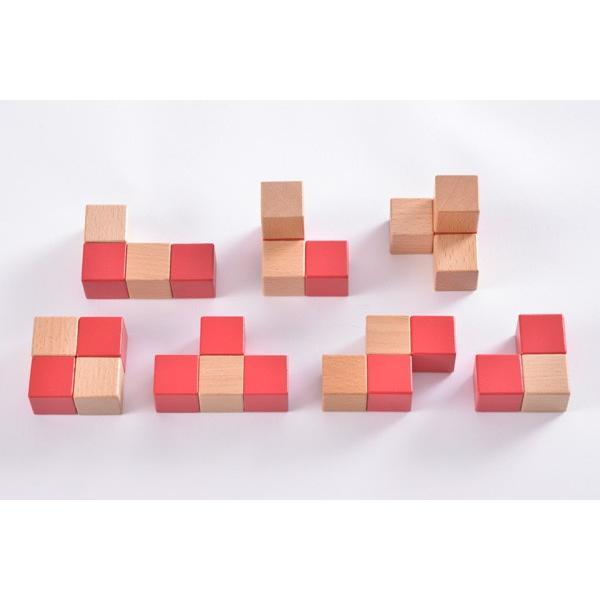 子ども用パズル 空間パズル くもん出版 KUMON 公文 知育玩具 学習 積木 木製 おもちゃ 誕生日 ギフト お祝い プレゼント キッズ 男の子 女の子 pinkybabys 07