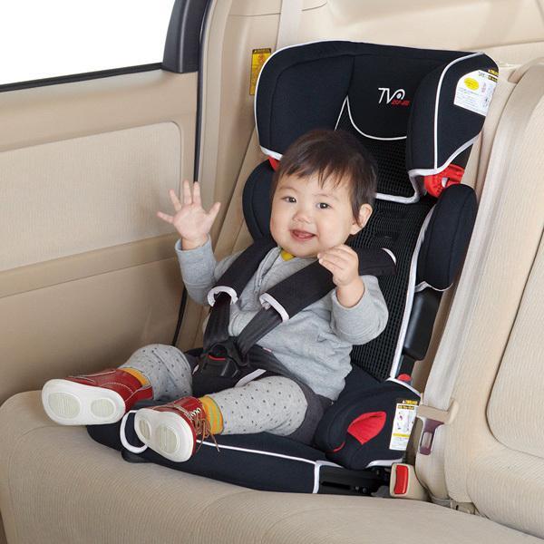 チャイルドシート トラベルベスト EC Fix 日本育児 ジュニアシート 1歳から ISOFIX シートベルト固定 折りたたみ ギフト 帰省 里帰り 送料無料 割引クーポン有|pinkybabys|05