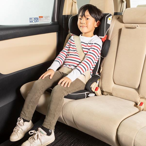チャイルドシート トラベルベスト EC Fix 日本育児 ジュニアシート 1歳から ISOFIX シートベルト固定 折りたたみ ギフト 帰省 里帰り 送料無料 割引クーポン有|pinkybabys|07
