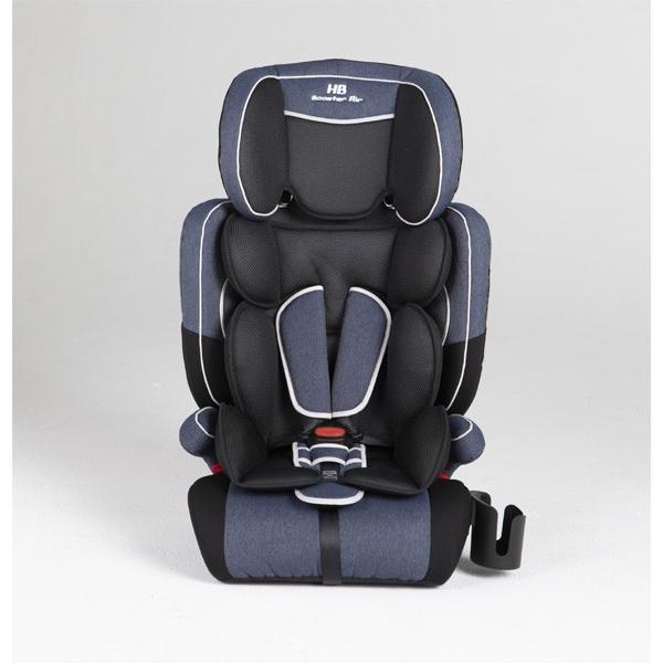 チャイルドシート ハイバックブースターEC2 Air ブルーデニム 日本育児 ジュニアシート 子ども 1歳から お出かけ シートベルト 一部地域送料無料|pinkybabys|02
