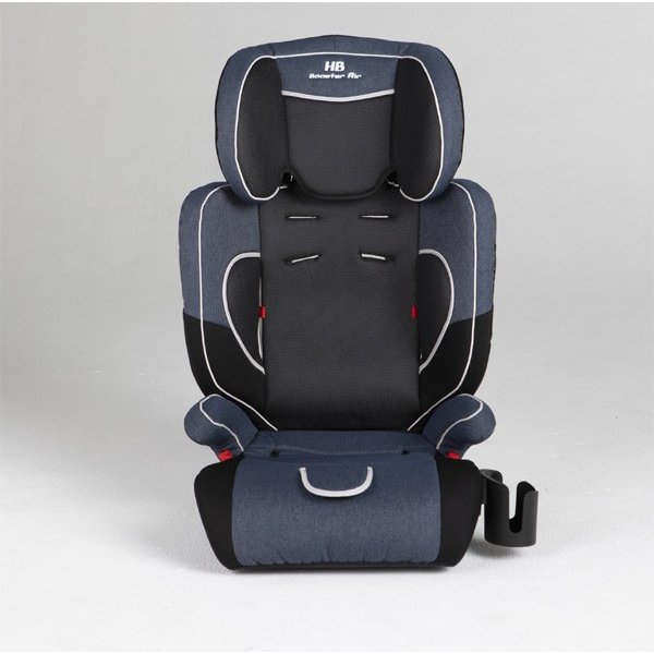 チャイルドシート ハイバックブースターEC2 Air ブルーデニム 日本育児 ジュニアシート 子ども 1歳から お出かけ シートベルト 一部地域送料無料|pinkybabys|03
