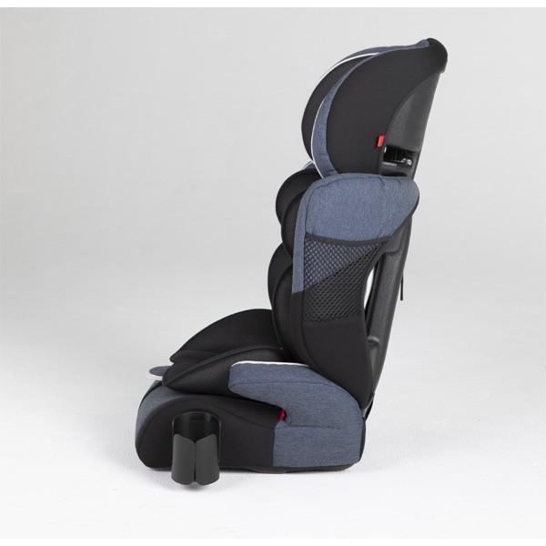 チャイルドシート ハイバックブースターEC2 Air ブルーデニム 日本育児 ジュニアシート 子ども 1歳から お出かけ シートベルト 一部地域送料無料|pinkybabys|04