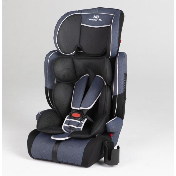 チャイルドシート ハイバックブースターEC2 Air ブルーデニム 日本育児 ジュニアシート 子ども 1歳から お出かけ シートベルト 一部地域送料無料|pinkybabys|05