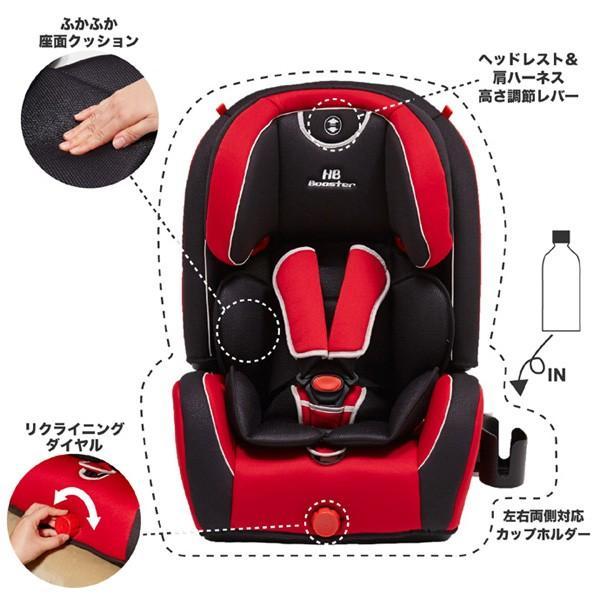 チャイルドシート ハイバックブースター EC3 日本育児 ジュニアシート 子ども 買い替え 赤ちゃん 里帰り ドライブ お出かけ 一部地域送料無料|pinkybabys|15