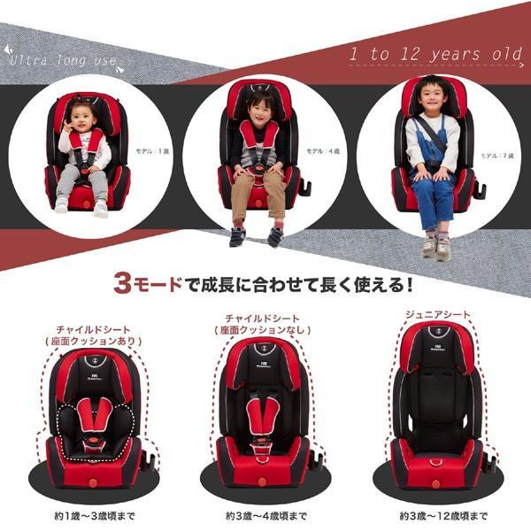 チャイルドシート ハイバックブースター EC3 日本育児 ジュニアシート 子ども 買い替え 赤ちゃん 里帰り ドライブ お出かけ 一部地域送料無料|pinkybabys|07