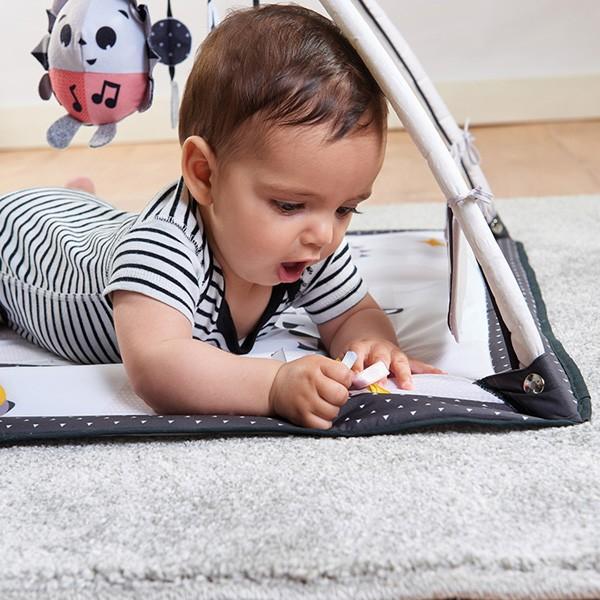 プレイマット ベビージム TinyLove マジカルテールズ ブラック&ホワイト ジミニー 日本育児 タイニーラブ ベビー キッズ マタニティ 出産 お祝い プレゼント|pinkybabys|07
