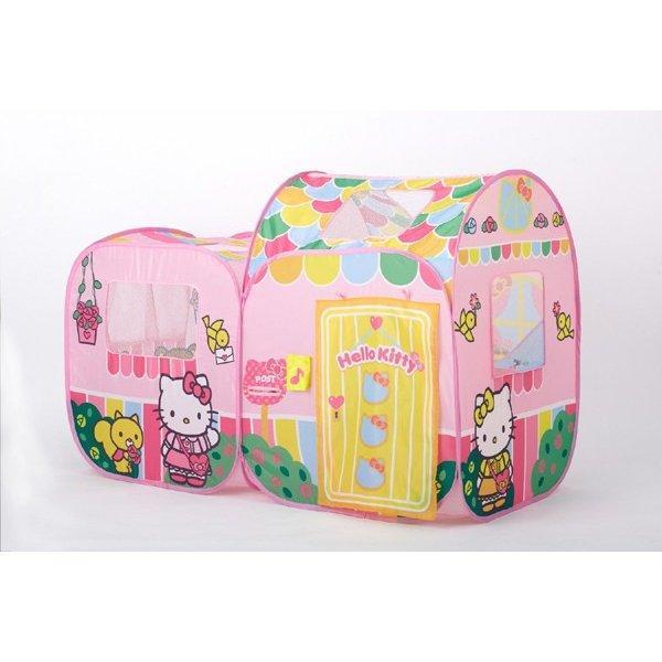 遊具 ハローキティ あそびにおいでよ ままごとハウス 野中製作所 WORLD ワールド おもちゃ 遊具 玩具 子供用テント プレゼント 誕生日 安全 安心 知育玩具|pinkybabys