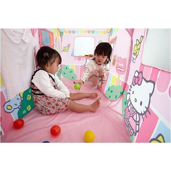 遊具 ハローキティ あそびにおいでよ ままごとハウス 野中製作所 WORLD ワールド おもちゃ 遊具 玩具 子供用テント プレゼント 誕生日 安全 安心 知育玩具|pinkybabys|03