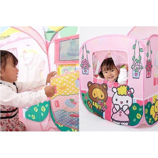 遊具 ハローキティ あそびにおいでよ ままごとハウス 野中製作所 WORLD ワールド おもちゃ 遊具 玩具 子供用テント プレゼント 誕生日 安全 安心 知育玩具|pinkybabys|04