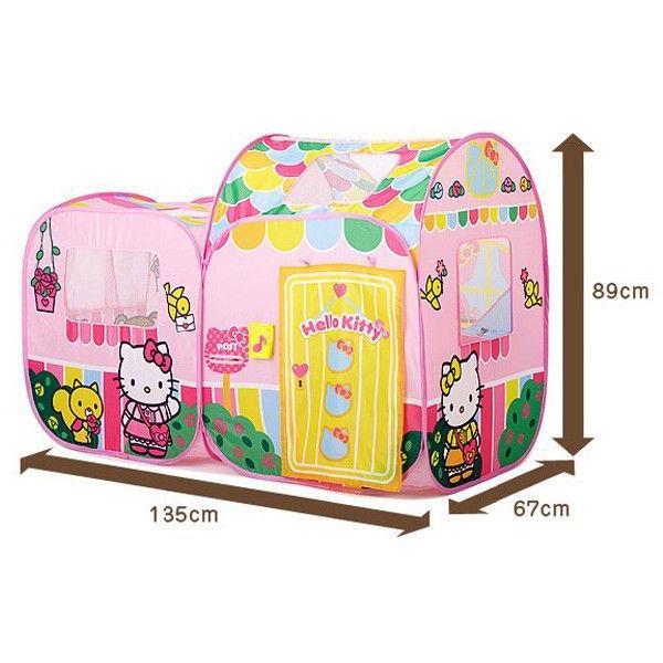 遊具 ハローキティ あそびにおいでよ ままごとハウス 野中製作所 WORLD ワールド おもちゃ 遊具 玩具 子供用テント プレゼント 誕生日 安全 安心 知育玩具|pinkybabys|06