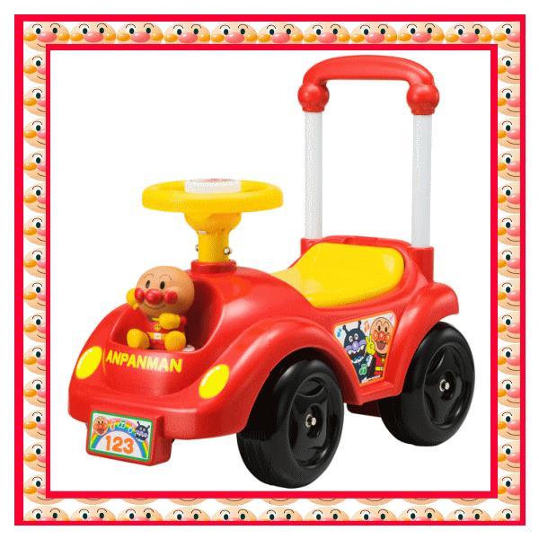 乗用玩具 NEWメロディアンパンマンカー アガツマ agatsuma Anpanman 室内 三輪車 バランスバイク 遊具 おもちゃ toys ギフト gift  誕生日プレゼント 安全 人気*|pinkybabys