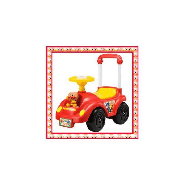 乗用玩具 NEWメロディアンパンマンカー アガツマ agatsuma Anpanman 室内 三輪車 バランスバイク 遊具 おもちゃ toys ギフト gift  誕生日プレゼント 安全 人気*|pinkybabys|02