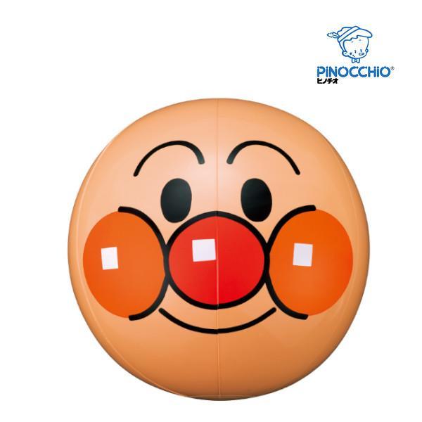 正規品 水遊び NEW アガツマ アンパンマン 顔ボール ピノチオ 家庭用プール 海 水遊び 浮き輪 ベビーボート 25cm ビーチバレー ボール遊び ビニールボール baby