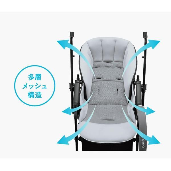 ベビーカー A型 スゴカルアルファ 4キャス コンパクト エッグショック モンポケ コンビ 赤ちゃん baby ストローラー 出産準備 出産祝 一部地域 送料無料 10倍|pinkybabys|15