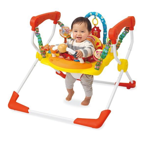 室内遊具 元気いっぱい! アンパンマン ベビージャンパー ジョイパレット おもちゃ トランポリン 赤ちゃん 誕生日 割引クーポン有|pinkybabys|02