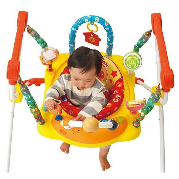 室内遊具 元気いっぱい! アンパンマン ベビージャンパー ジョイパレット おもちゃ トランポリン 赤ちゃん 誕生日 割引クーポン有|pinkybabys|04