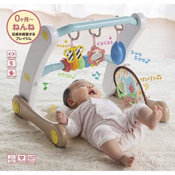 ベビージム うちの赤ちゃん世界一 スマート知育ジム&ウォーカー ピープル おもちゃ 室内遊具 押し車 ベビー キッズ 出産 お祝い プレゼント ギフト SNS|pinkybabys|04