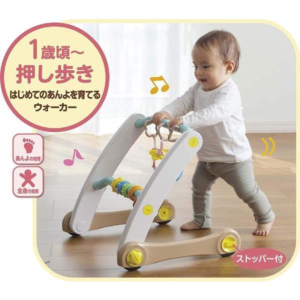 ベビージム うちの赤ちゃん世界一 スマート知育ジム&ウォーカー ピープル おもちゃ 室内遊具 押し車 ベビー キッズ 出産 お祝い プレゼント ギフト SNS|pinkybabys|06