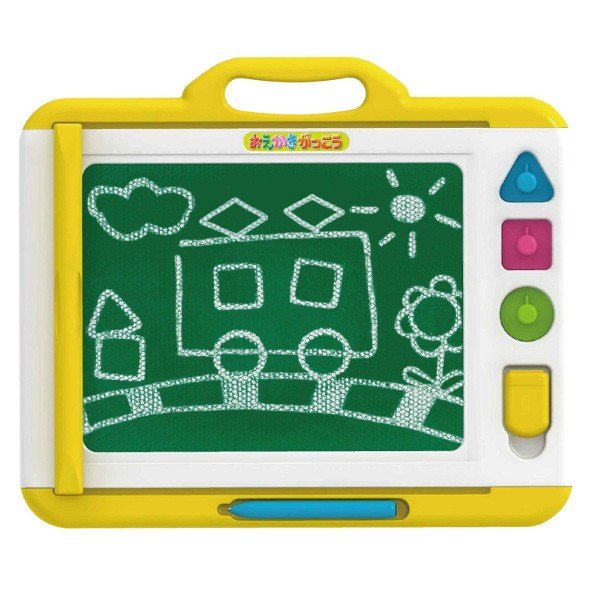 知育玩具 おえかきがっこう パイロットインキ おもちゃ お絵かき 文字 数字 絵 キッズ 子ども 黒板 マグネット 誕生日 プレゼント ギフト クリスマス|pinkybabys|02