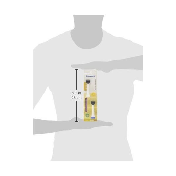 パナソニック 替えブラシ ドルツ イオン用2Wayシリコンタイプ 2本組 白 EW0906-W|pintquru|03