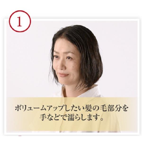 髪 ボリュームアップ スタイリング剤 ふんわり美人 80g(約1ヶ月分) 整髪剤 馬プラセンタ配合 エイジングケア 送料無料|pirika-shop|10
