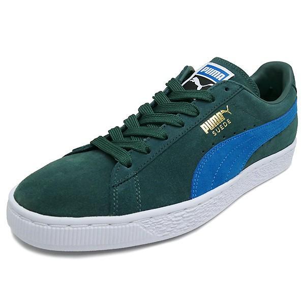 PUMA SUEDE CLASSIC+ 【プーマ スウェードクラシックプラス】 green gables/mykonos blue (グリーン ゲイブルズ/ミコノス ブルー)  363242-30 17HO|pistacchio