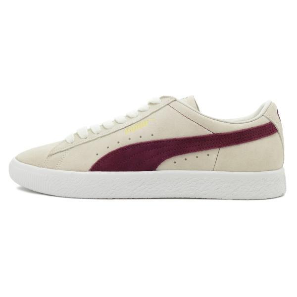 スニーカー プーマ PUMA スウェード90681 ホワイト/ポメグラネイト メンズ レディース シューズ 靴 18FA|pistacchio|02
