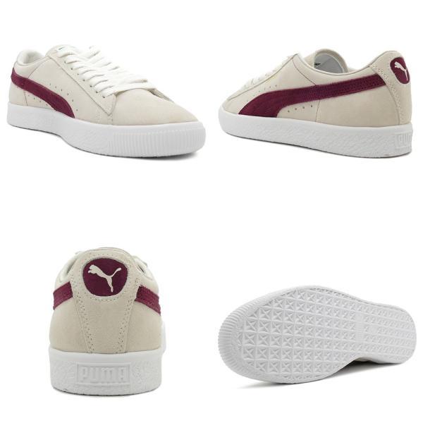 スニーカー プーマ PUMA スウェード90681 ホワイト/ポメグラネイト メンズ レディース シューズ 靴 18FA|pistacchio|03